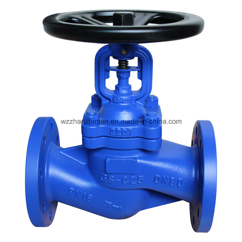 DIN Standards Bellows Seal Globe Valve