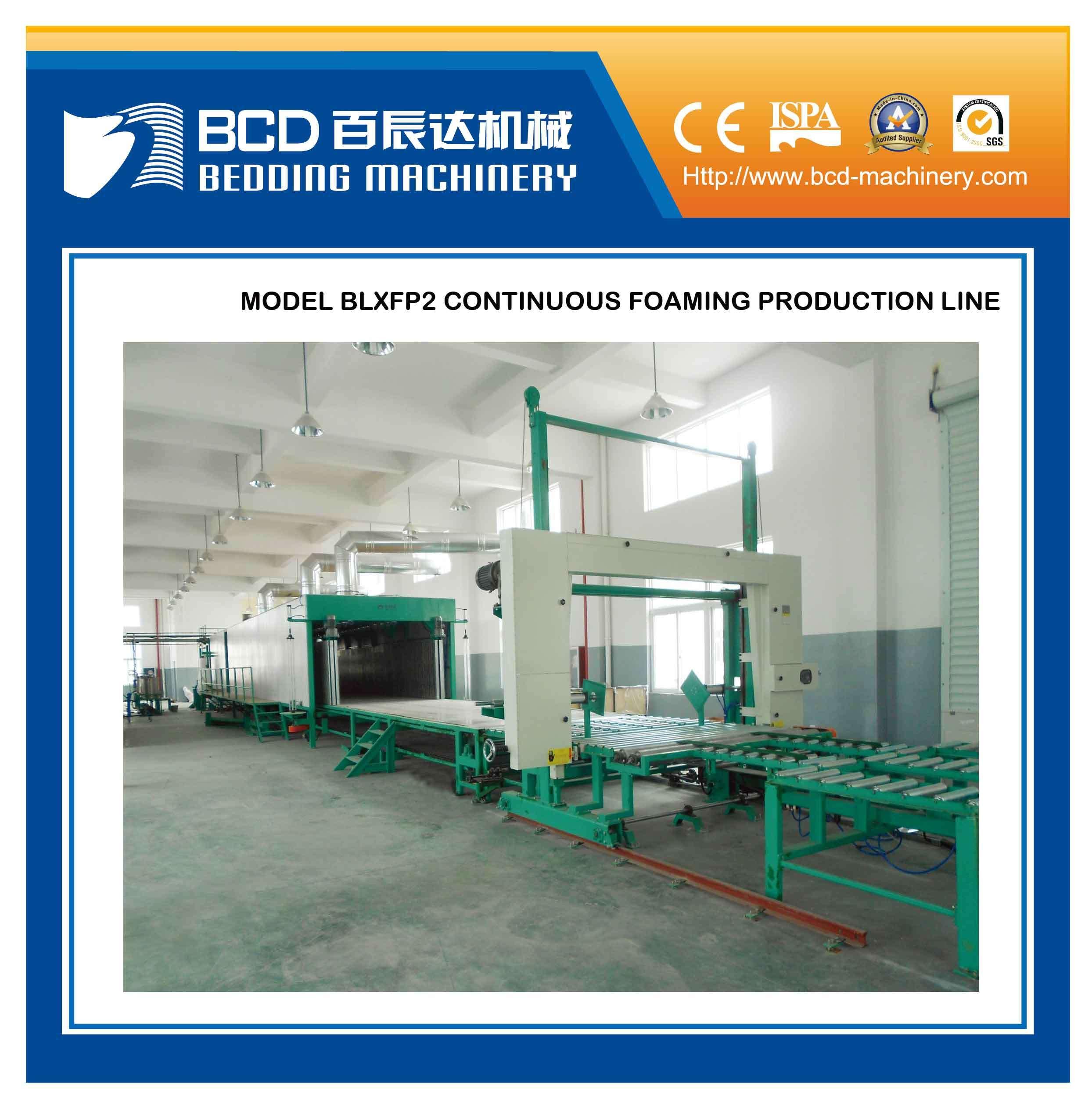 Continuous Foaming Production Line (BLXFP2)