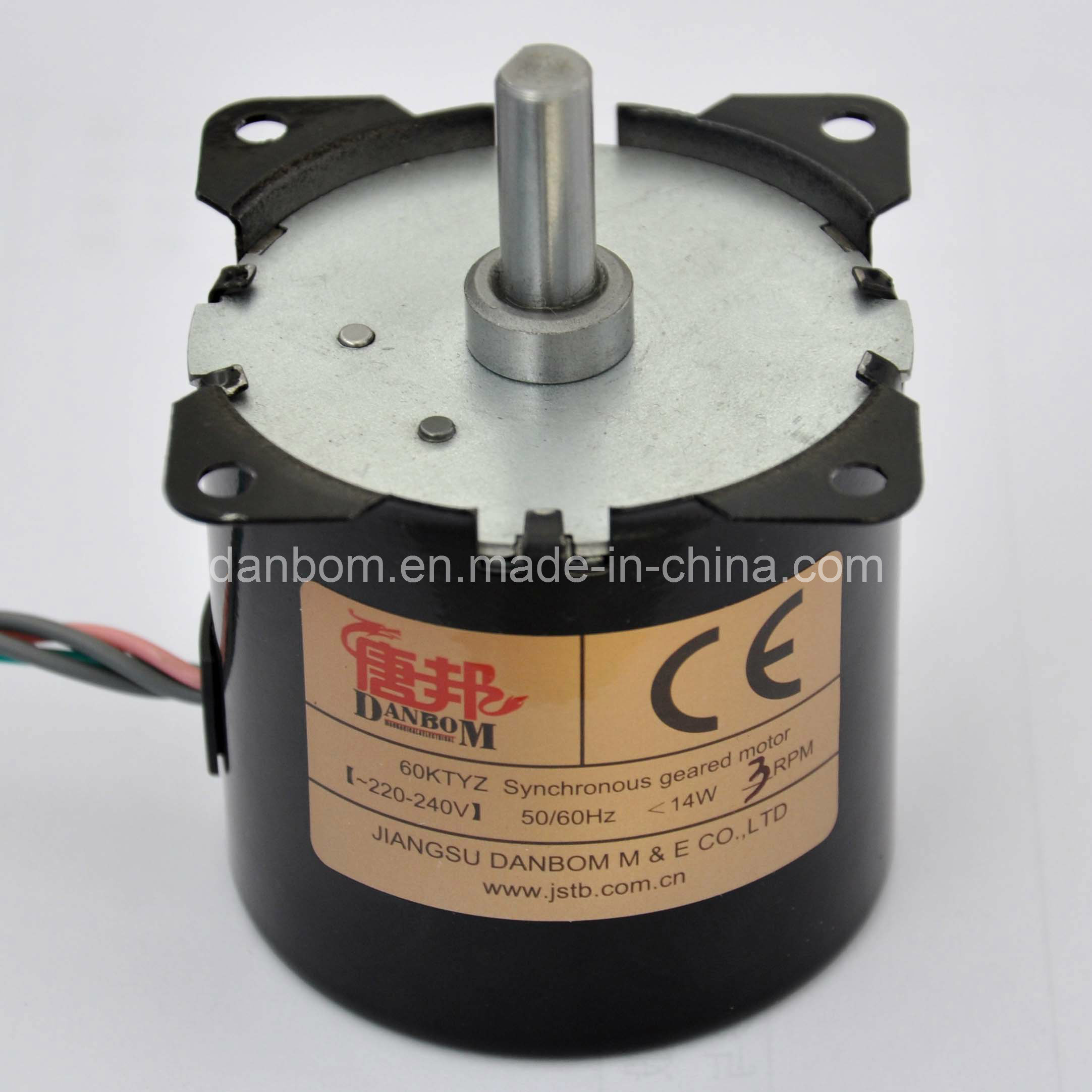 China High Torque Ac Synchronous Gear Motor 60ktyz