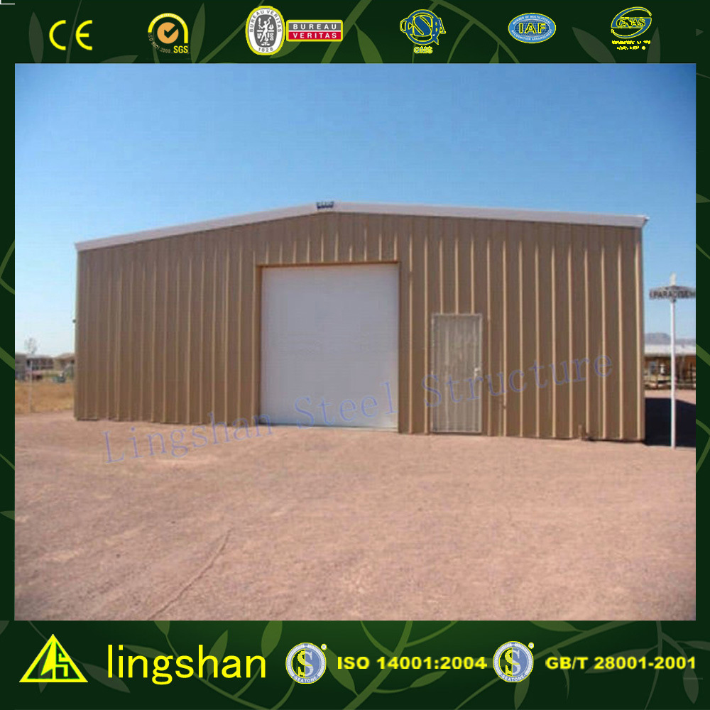 Fabricated Steel Structure Building Project in Saudi Arabia (L-S-060)