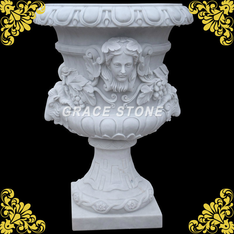 Garden Decorative Stone Flower Pot