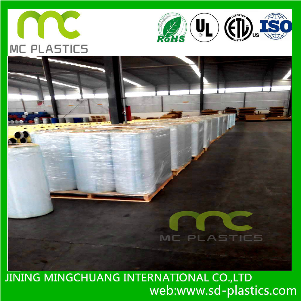 PVC Flexible/Fr/Transparent/Color Film for Packaging/Adhesive Tape/Tarpaulin and Inflatable Toys