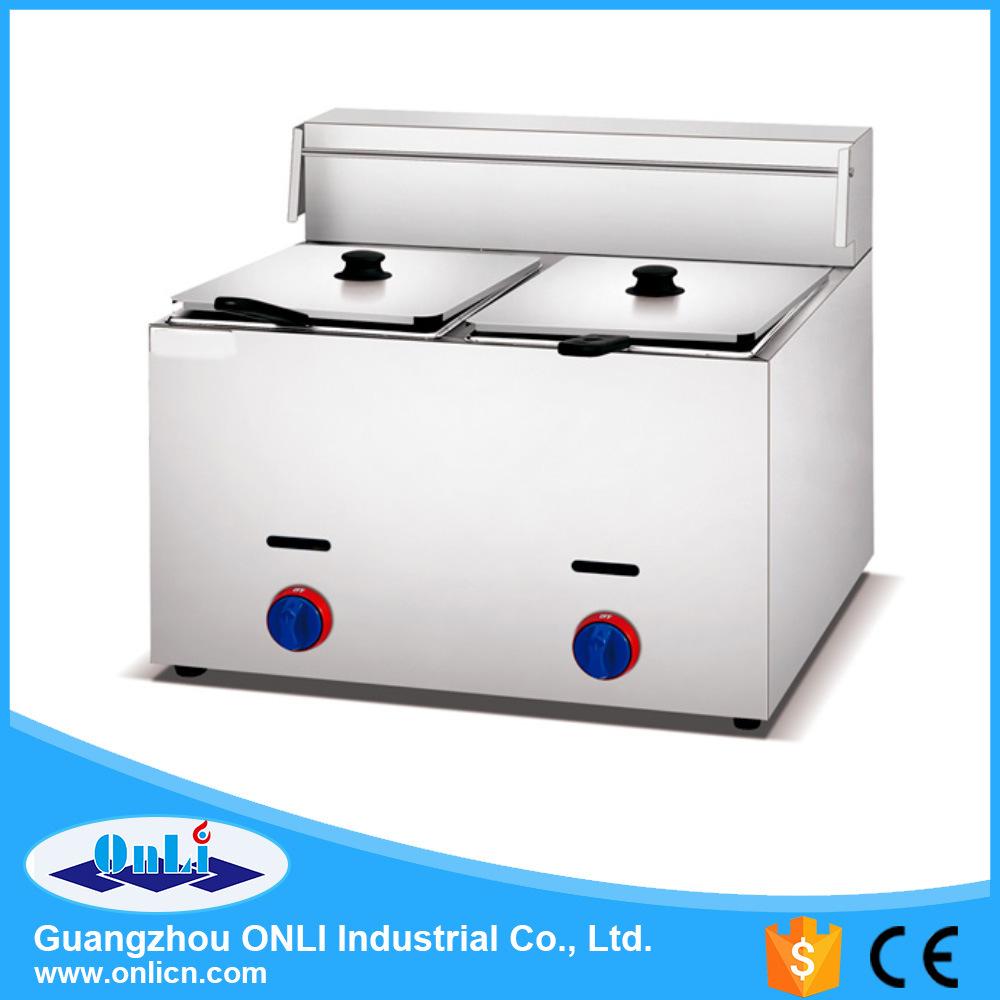 Gas 1-Tank Fryer