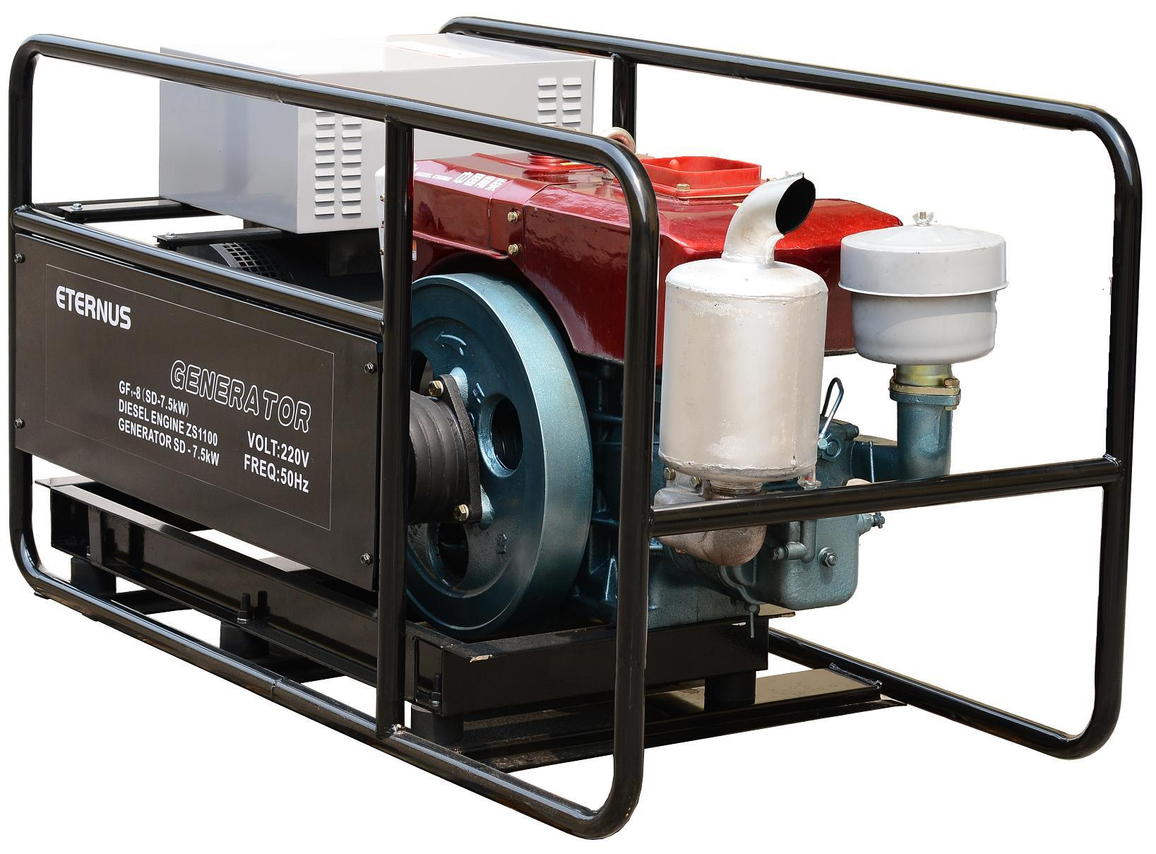 12kw Simple Portable Diesel Genset