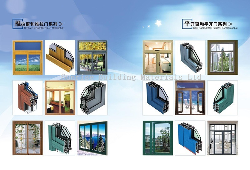 6063 Aluminum Alloy Building Material