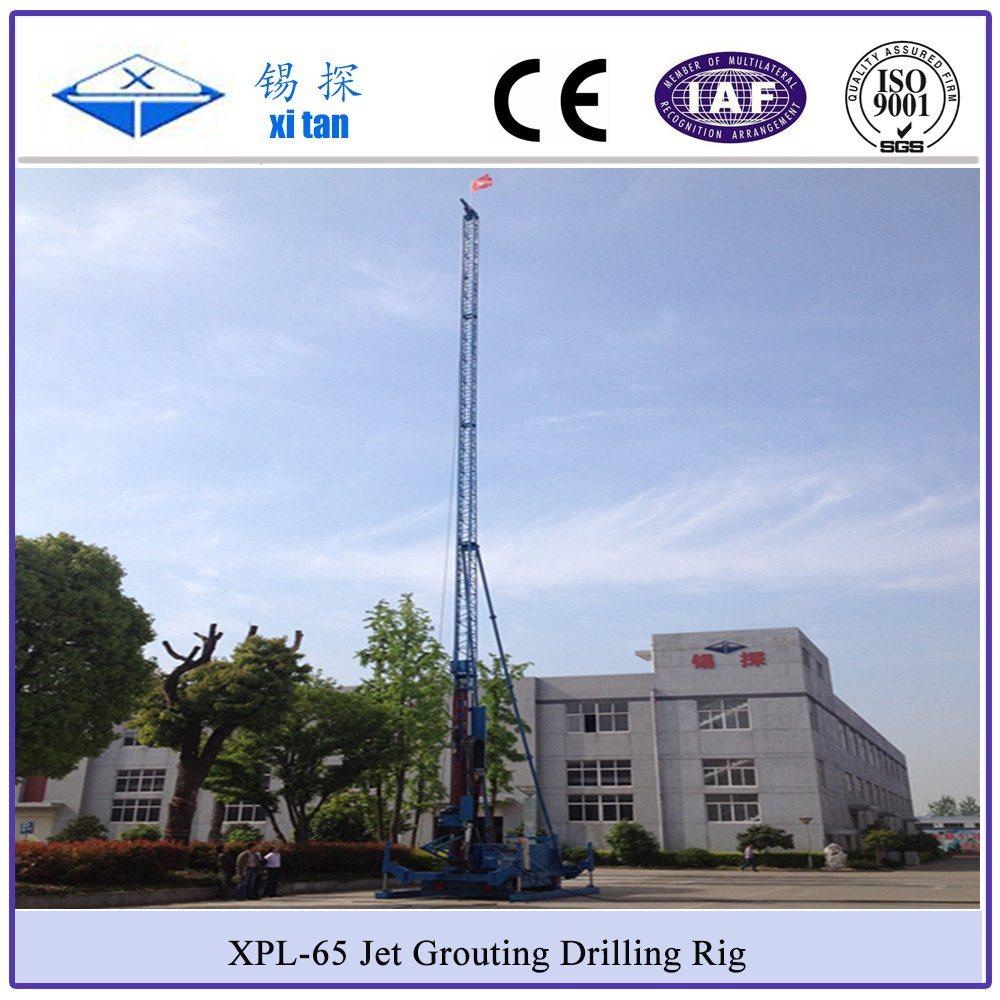 Xitan Xpg-65 Long Mast Jet Grouting Drilling Rig Hydraulic Chuck Jet Grouting Machine