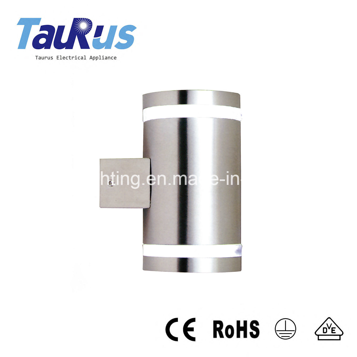 Double Light Stainless Steel Outdoor Light with Ce (AM-SS1021-2)