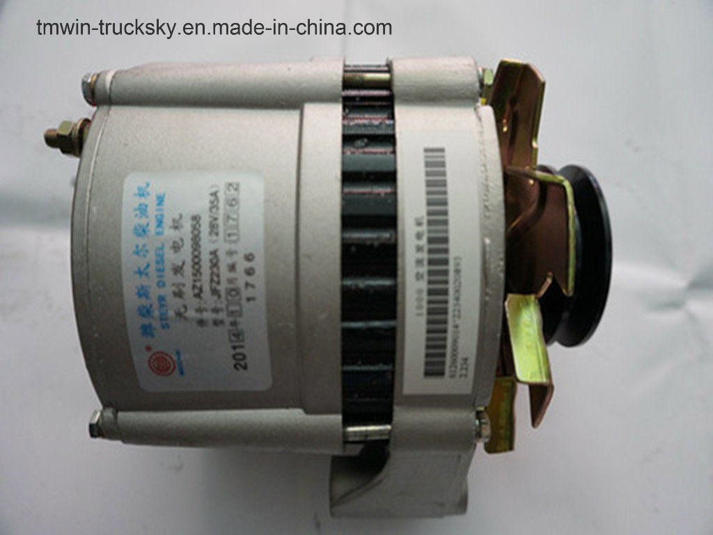 Weichai Spare Parts Alternator Genuine (AZ1500098058)