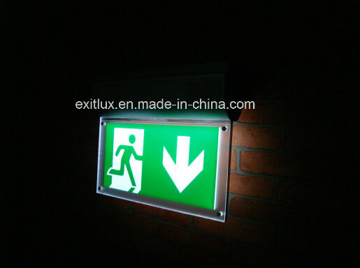 LED Self-Contained Emergency Light Exit Signs (Self test or DALI interface)