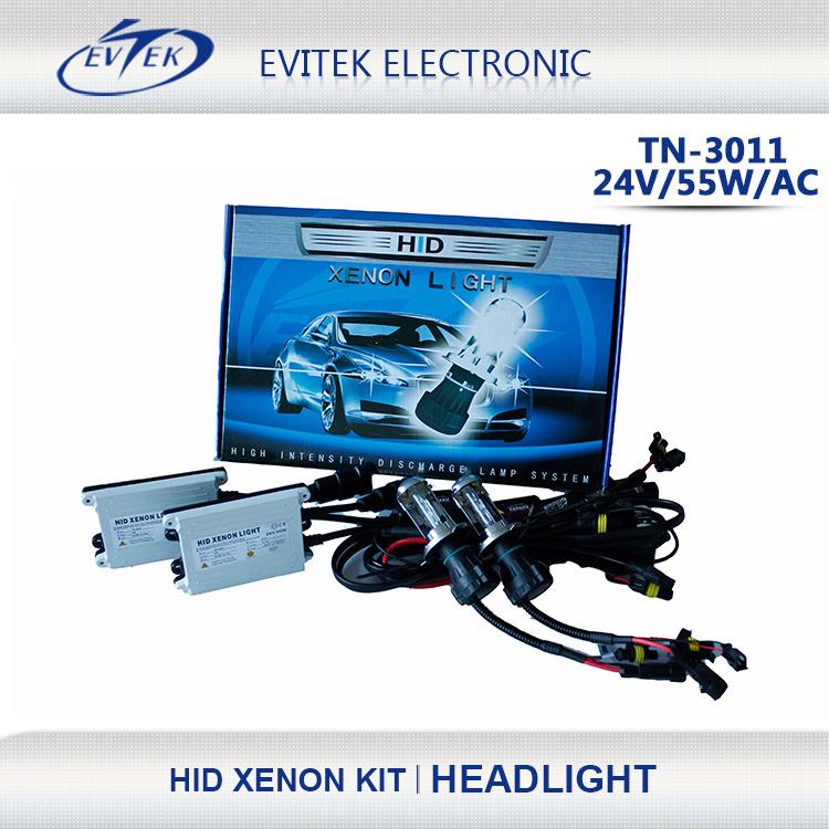Xenon HID Kits 55W HID for AC 24V Slim Ballast 6000k Xenon Lamp HID Bulb
