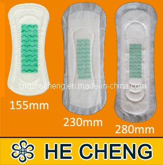 Disposable Non-Wing Cheap Anion Sanitary Napkins