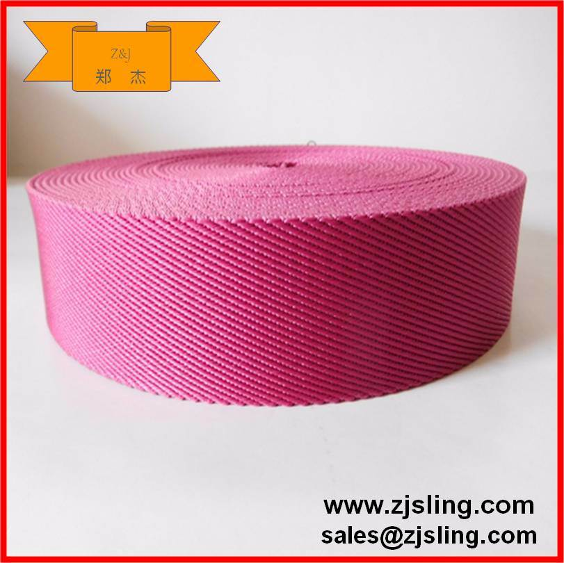 Colourful 25mm-250mm Webbing for Sling or Ratchet