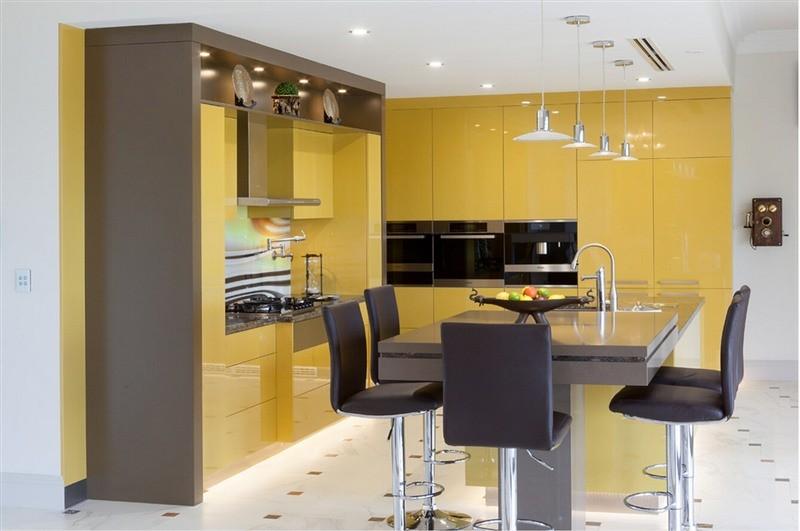 2016 Mobili Da Cucina New Design Furnitures Modern Armoires De Cuisine High Gloss Lacquer Kitchen Professional OEM Manufacturer L1606070