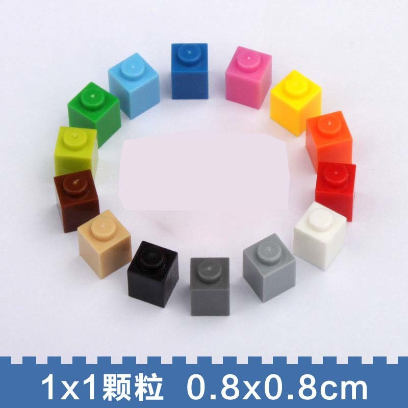 2X4 ABS Plastic Compatible Size Plastic Building Blocks Toys