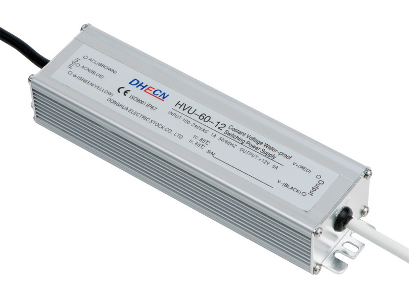 Single Output Waterproof Power Supply (HVU-60)