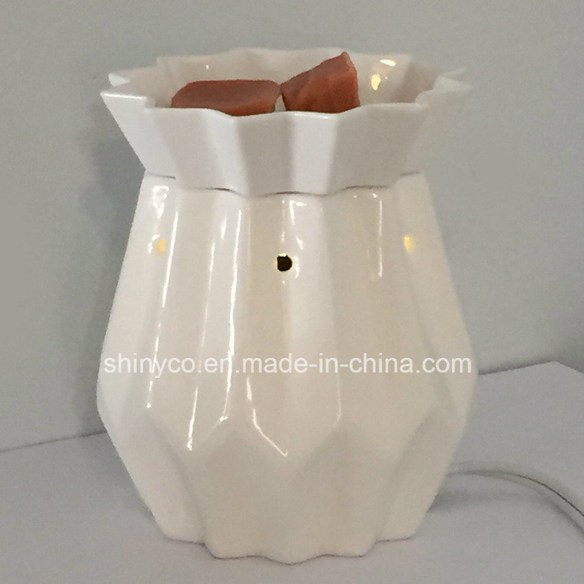 Electric Translucent Fragrance Lamp Warmer with Remote Controller
