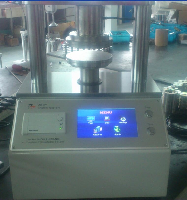 Touch-Screen Crush Tester--Laboratory Equipment