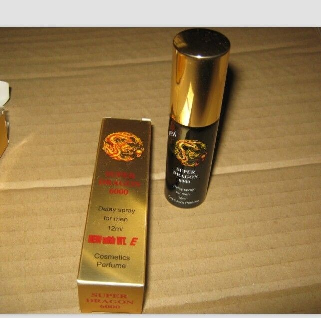 Super Dragon 6000 12ml Delay Spray for Men Gh089