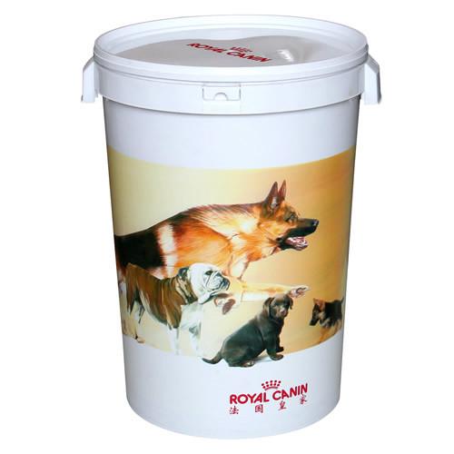 Dog Food Storage Barrel