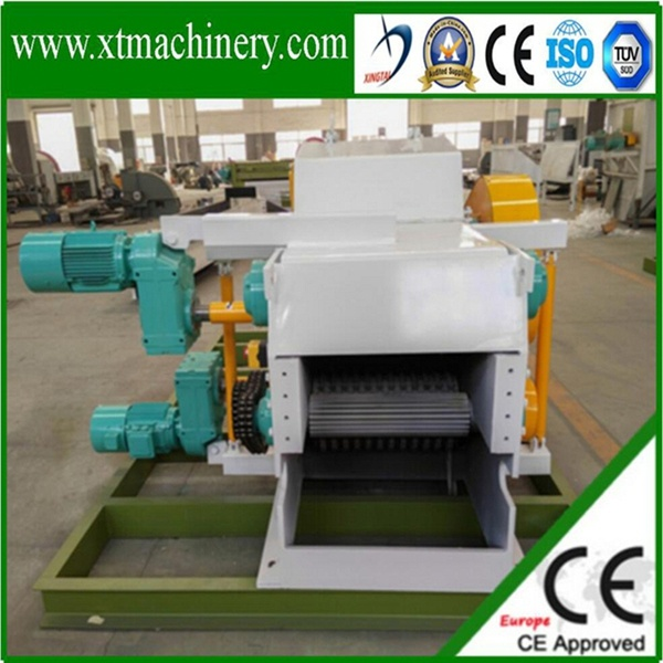 Stable Output, 110kw Siemens Motor Power Wood Crusher Machine