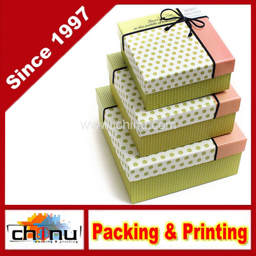 Paper Gift Box / Paper Packaging Box (12D6)