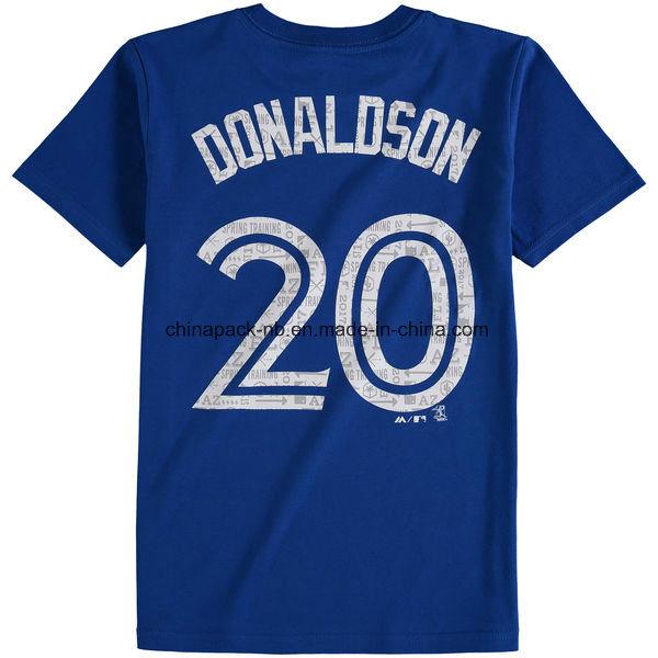 Youth Toronto Blue Jays 2017 Spring Training Name & Number T-Shirt