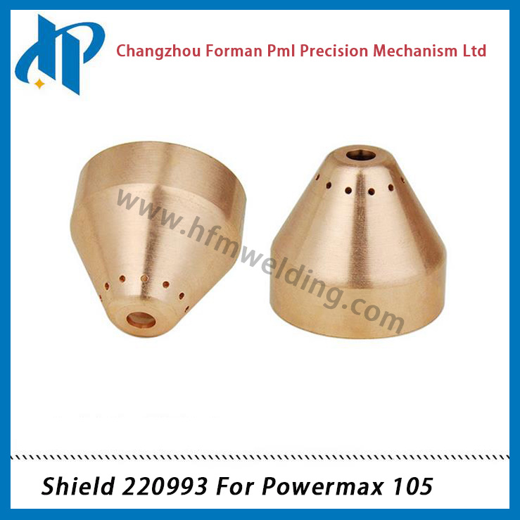 Shield Cap 220993 for Plasma Cutting Torch Consumables 105A