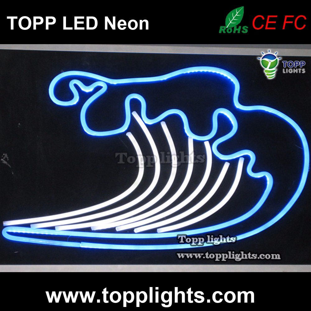 LED Neon Sign DIY 12V LED Neon Flex Rope Light