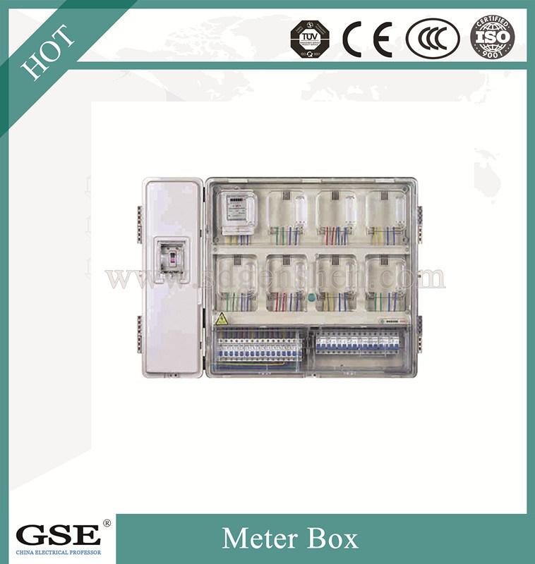 Waterproof Single Phase Electrical Energy PC Meter Box