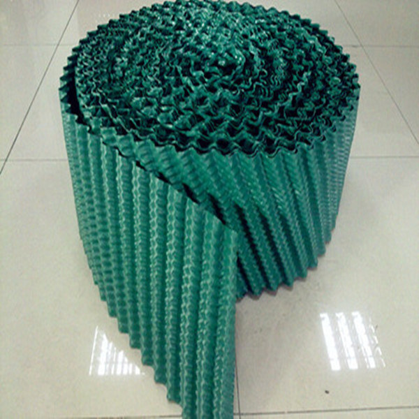 250mm 300mm Round Cooling Tower Couter Flow PVC Fill