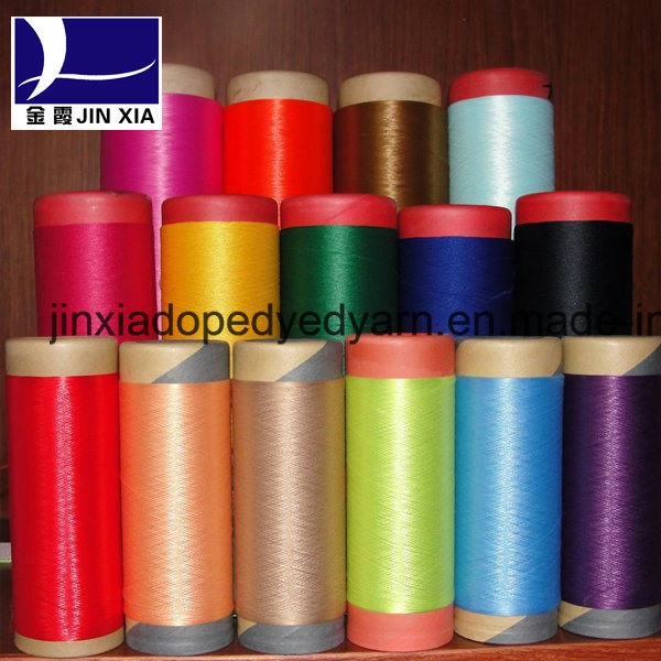Dope Dyed Polyester Yarn DTY 150d/96f