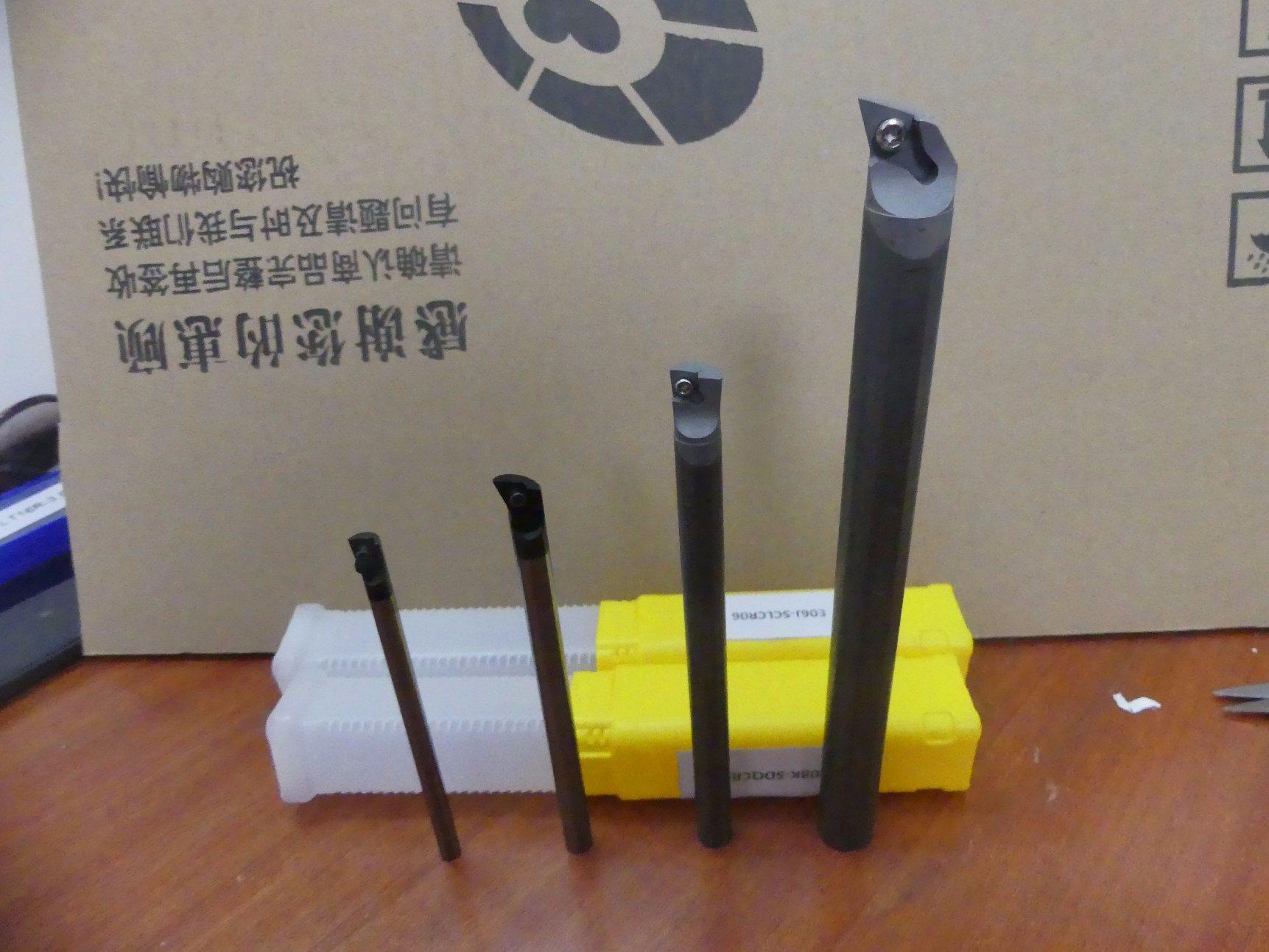 Cutoutil E08k-Sdqcr07 Carbide Boring Bar Carbide Shank with Coolant Boring Bar