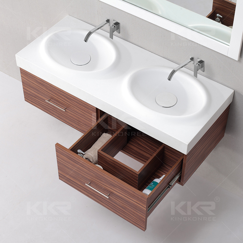 Resin Stone Acrylic Solid Surface Bathroom Vanity Sink