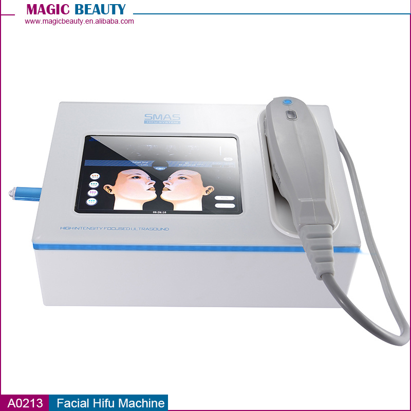 A0213 Portable Anti Aging Face Lift Hifu Beauty Machine with Ce