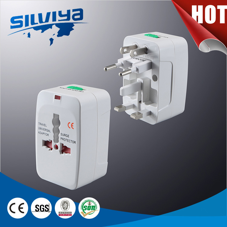High Quality! Universal EU&UK Travel Adapter with USB or Without