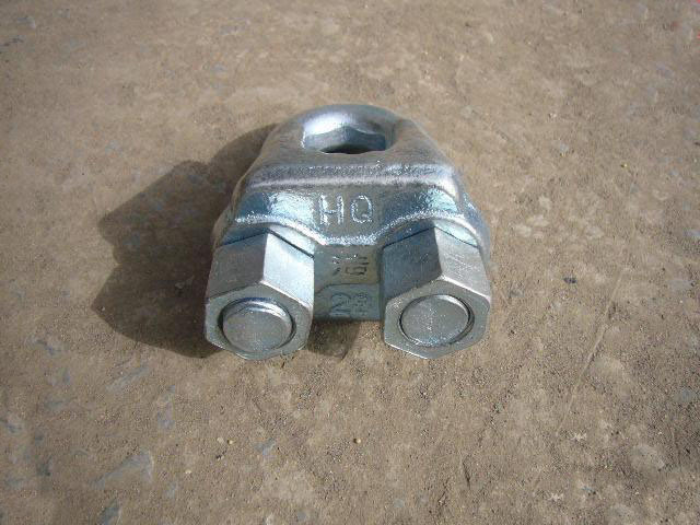 GB Standard Steel Wire Rope Clip Type a, Stainless Steel, Malleable Iron