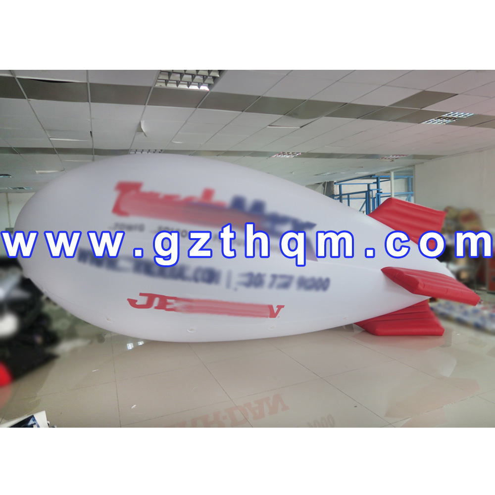 Inflatable Event Helium Floating Airship Balloon/Nflatable Helium Round Blimp Balloon