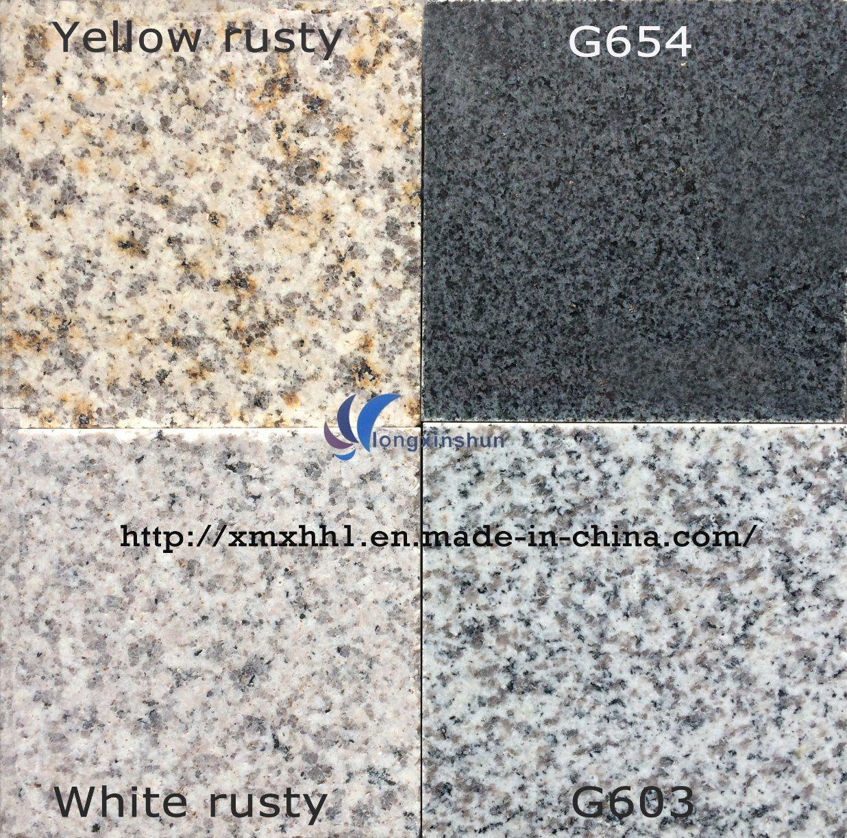 G603/G654/G664/Rusty Yellow White Grey Black Natural granite