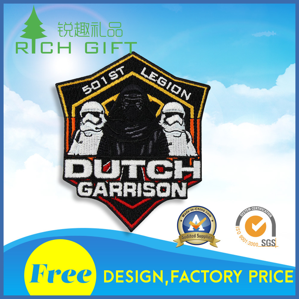 Large Supply Various High Quality Patches Embroidery