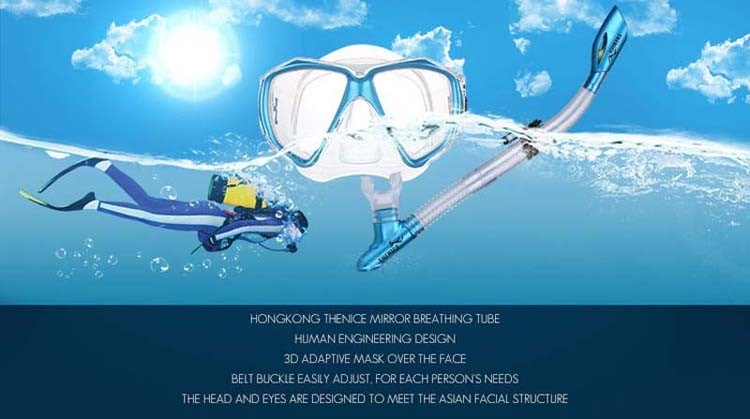 Full Dry Breath Tube Swim Spearfish