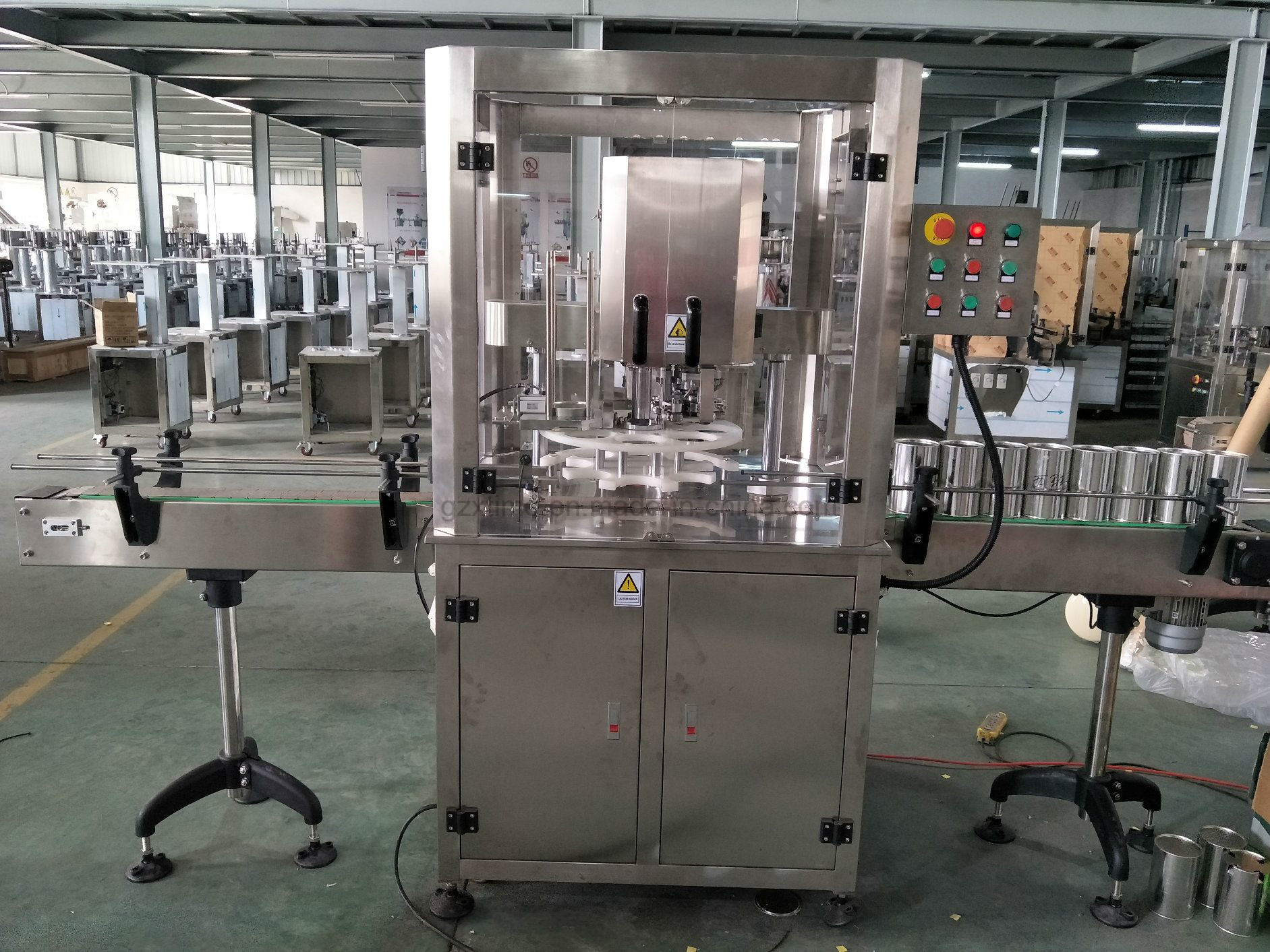 Fully Automatic Can Packing Machine