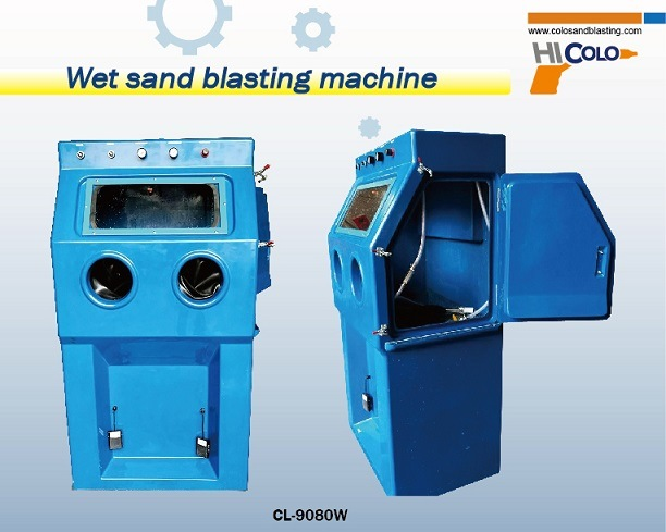 Wet Sand Blasting Machine with Water Pump