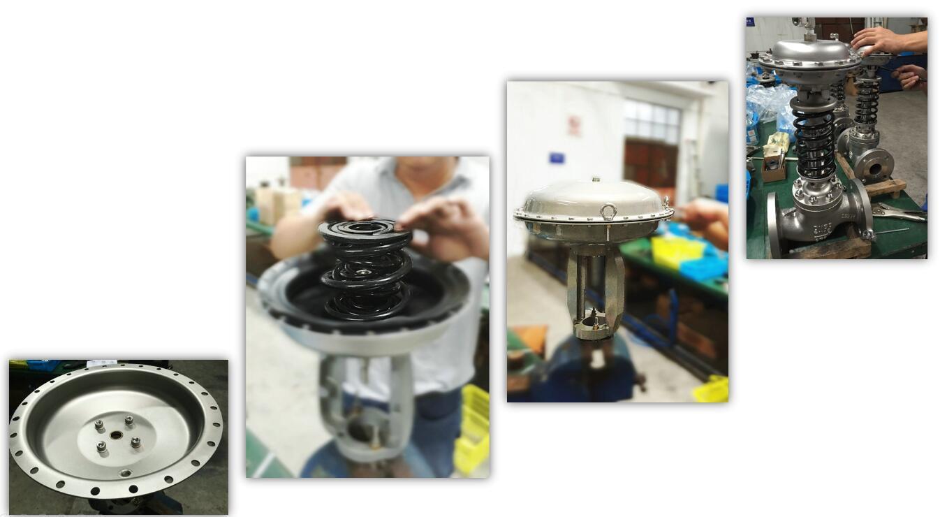"1"" Sc8000 Bellows-Sealing Pneumatic Control Valve"