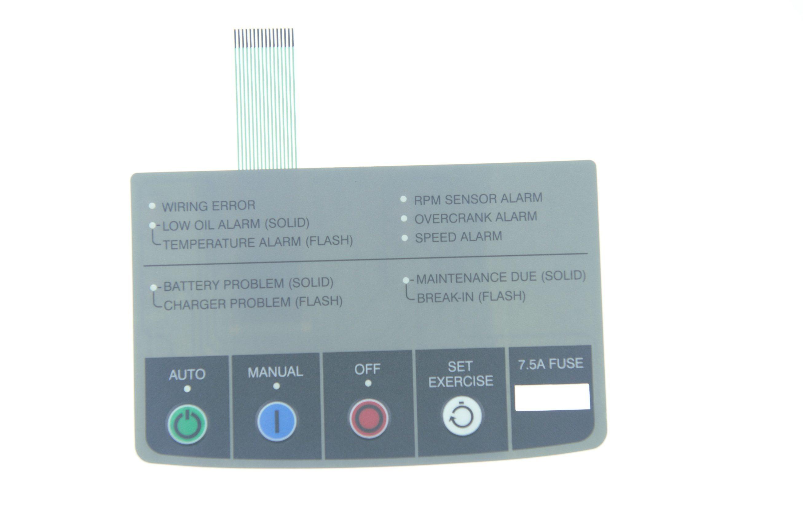 4 LED Keyboard Membrane Switch Thin Film Switch Keyboard Membrane Switch