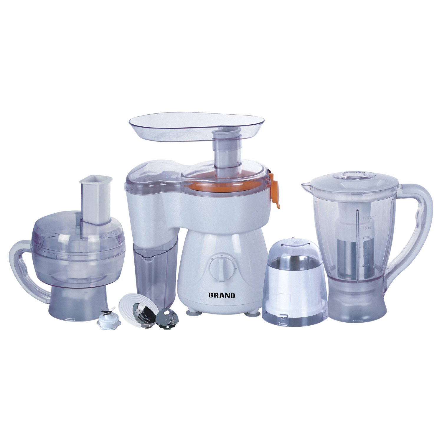 Hot Sale 300watt 7 in 1 Multi Functions Food Processor