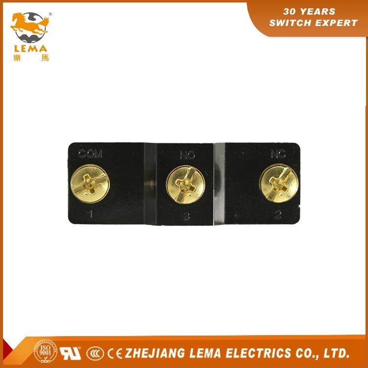 Lema Panel Mount Cross Roller Plunger Micro Switch 15A Lz15-Gq21-B