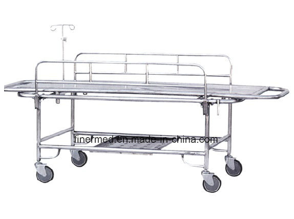 Stainless Steel Emergency Stretcher Trolley