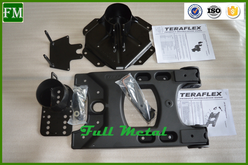 Teraflex Adjustable Spare Rear Tire Mounting Kits for Jeep Jk Rubicon
