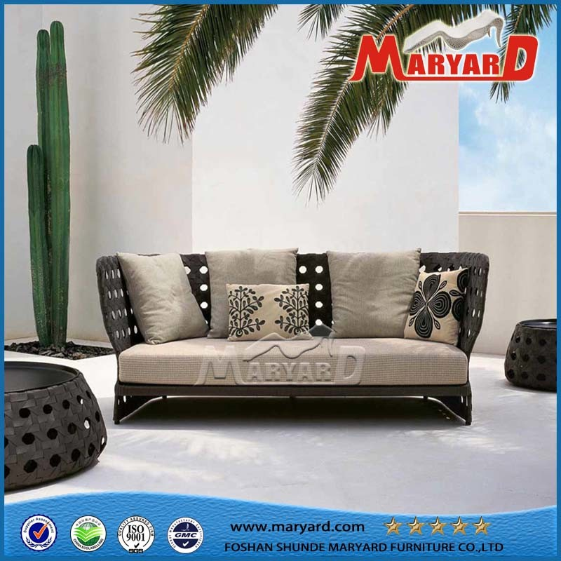 Outdoor Rattan Furniture Hotel Leisure Sofa