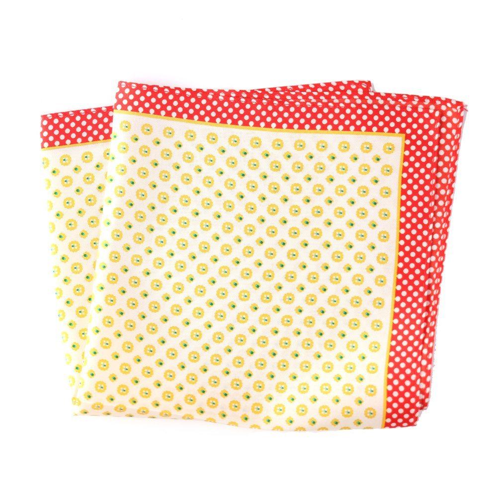 100%Silk Printed Hanky/Men′s Pocket Square